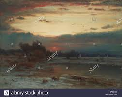 Luminism Light Art A Winter Sky 1866 Like Other Painters Of The Hudson River