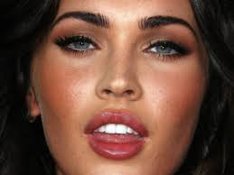 megan fox s makeup look