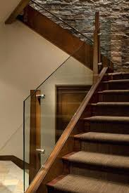 cost to carpet stairs glass railing staircase contemporary with wood posts beige shade stair w3
