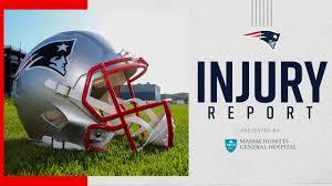 Week 11: Patriots - Eagles Injury Report