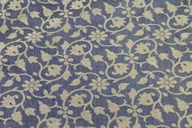 Floral Brocade Drapey Floral Brocade Blue