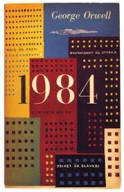 book cover design for the swedish edition of george orwell s novel 1959 artist olle eksell