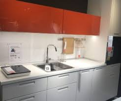 ikea modern kitchen. Modern Kitchen Desing In Grey And Red From IKEA Ikea K