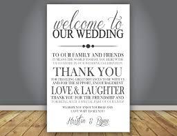 Add On Thank You Note Wedding Program Add On Guest Thank