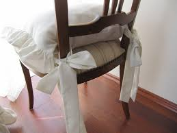 dining room table and ruffled chair cushionsset of 2 pcs 18 inch 3 sides by nurdanceyiz 120 00