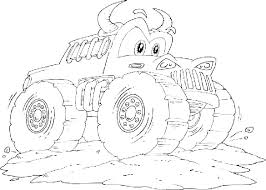 Printable Monster Truck Coloring Pages Blaze Printable Coloring
