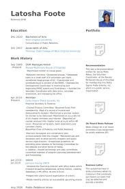 Shift Manager/Intern Resume samples