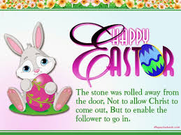 happy easter cartoons quotes 2017