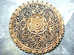 full size of reclaimed wood wall art canada wooden indian decor carved white unique circle flower