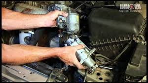How to change Starter Assembly - 1997 Toyota Camry - YouTube