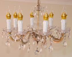 image of beautiful led chandelier bulbs