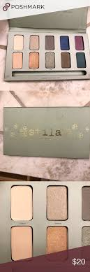stila in the garden palette barely used stila makeup eyeshadow