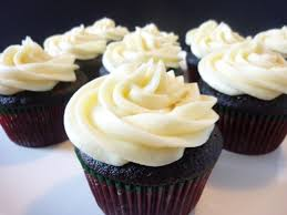 chocolate cupcake with cream cheese frosting.  Cheese Chocolate Stout Cupcakes With Cream Cheese Frosting Intended Cupcake With A