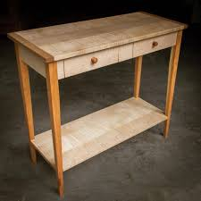 cherry sofa table. Petite Curly Maple And Cherry Console Table With Drawers Resting Shelf. Made To Perfectly Sofa