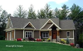 fresh craftsman ranch house plans and craftsman ranch traditional house plan elevation 27 rustic craftsman ranch