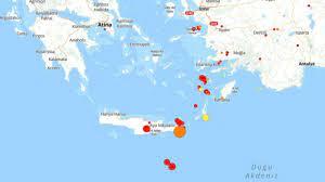 Son depremler: Girit'te yaşanan deprem Ege'de hissedildi - Dünya Gazetesi