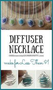 How to Make DIY Diffuser Necklace for Essential Oils | Essential ...