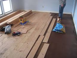 Real wood floors for Less than half the cost of buying the floating floors.  Little