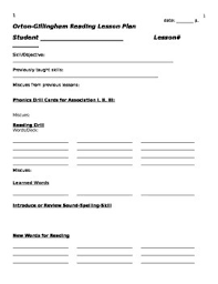 lesson plan template word doc orton gillingham lesson template word doc by orton gillingham tutor