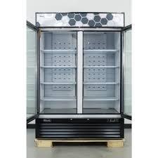 ft migali c 49fm 2 swing glass door merchandiser freezer 49 cu