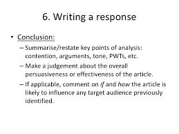 Example Of Response Essays Summary Response Essay Samples Response Essay Outline