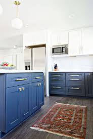 fancy white and blue kitchen cabinets best ideas about blue white kitchens on beach style