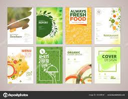 Menu Presentation Design Menu Flyer Design Set Restaurant Menu Brochure Flyer