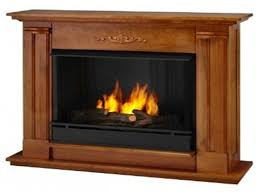 ventless gas fireplace with mantel