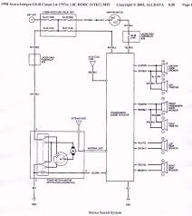 94 acura legend stereo wiring diagram wirdig