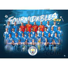 Manchester City FC Fourmidables Winners Poster – Alltrade - Online