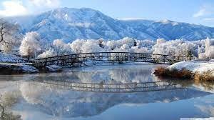 Beautiful Winter Scene Ultra HD Desktop ...