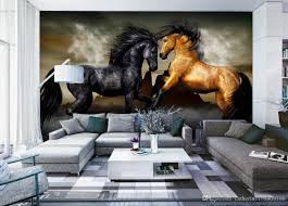 home decor natural art background wall painting horses 3d murals wallpaper for living room 3d stereoscopic wallpaper 3d wall murals wallpaper mural 3d