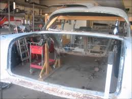 1957 Chevy Bel air frame off restoration (Danny) - YouTube