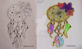 Pictures Of Dream Catchers To Draw 100100 100 Drawing ChallengeDream Catcher100 by Kristina 71