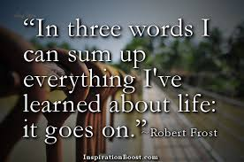 Robert Frost Quotes | Inspiration Boost via Relatably.com