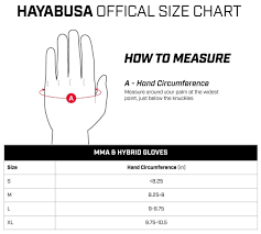 Hand Gloves Size Chart Hayabusa Mma Gloves T3 Mma Pro Style Mma Gloves Men And Women 4oz