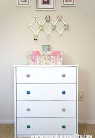 cheap furniture knobs. diy dresser knobs glitter mod podge budget crafts painted furniture cheap
