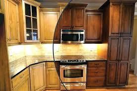 oak kitchen cabinets s with glass doors dark wood black granite cabinet door