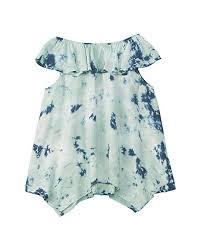 Amazon Com Splendid Littles Womens All Over Tie Dye Voile