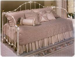 white iron daybed. Plain White Elliotts Designs Arlington 410 Daybed Wrought Rod Iron Beds White  In