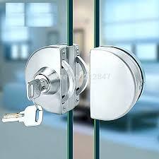 full image for sliding glass door key locks entry gate 10 12mm glass swing push sliding