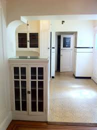 image for 1920s kitchen cabinets