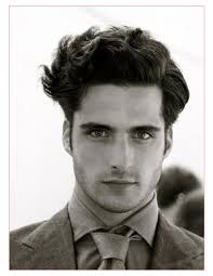 Mens Wavy Hair Style modern mens hairstyle with mens hairstyle for wavy hair all in 1060 by wearticles.com