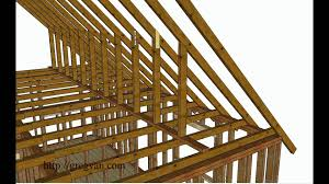 using walls instead of purlin braces to support roof rafters attic remodeling tips you