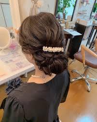 Moriyama Mamiさんの投稿 結婚式お呼ばれヘア和装にも Tredina