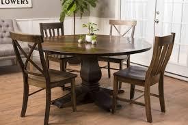 Round Heirloom Pedestal Table