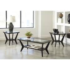 Nice Woodrow 3 Piece Coffee Table Set In Brown Design