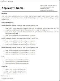 Create A Resume Free New Create Free Resume Templates The Hakkinen
