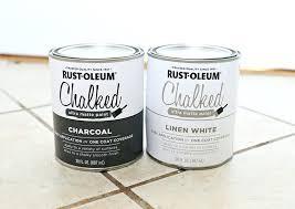 Rustoleum Chalked Paint Colors Rust Chalked Paint Rustoleum