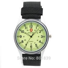 aliexpress com buy 2016 new style beautiful timepiece military 2016 new style beautiful timepiece military army luminous dial mens ladies quartz wrist watch canvas band